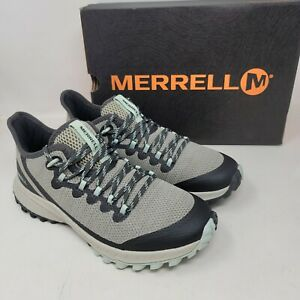 Merrell Bravada Womens Outdoors Hiking Trail Shoes Aluminum Color Size 7 M