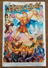 Tate Donovan Signed Hercules 12x18 Poster Disney Voice Actor Argo Friends RAD