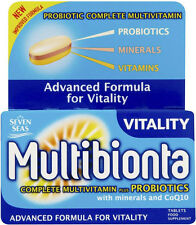 Seven Seas Multibionta Vitality Complete Plus Probiotics (28)