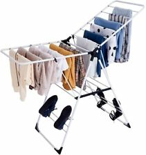 Foldable Steel Tripod Clothes Drying Rack Stand Lightweight For Laundry Room New