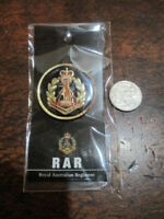 Royal Australian Regiment Medallion 48mm  Australian RAR Crest Solid Metal