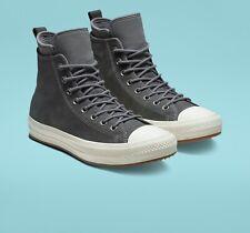 Converse Chuck Taylor Waterproof Nubuck Grey Boot Shoes 157459C Mens Sz 8 $120