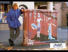 """ALBI 81: ART STREET """"LES DEMOISELLES de VIGAN"""" création de Jocelyne LEFEVRE 1990"""