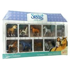 Spirit Riding Free Dreamworks Horse Collection Mini Figures 10 Figures Free Ship