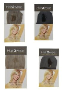 FULL SWEEPING SIDE FRINGE EASY TO ATTACH CLIP ON HAIR EXTENSION MULTIPLE COLOURS