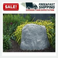 Artificial Landscape Rock Large Faux Granite Cover Fake Decor Patio Garden