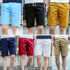 1Pcs Beach Shorts Summer Fashion Mens Shorts Cotton Men's Casual Shorts