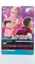 Carte Dragon ball Z Majin Buu & Mr. Satan DB-654