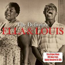 ELLA FITZGERALD & LOUIS ARMSTRONG - THE DEFINITIVE 3CD