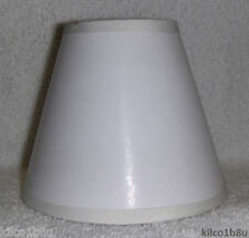 New WHITE Paper Mini Chandelier Lamp Shade any room, whites