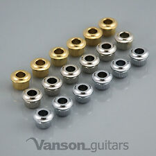 6 x NEW High Quality Conversion Bushings, guitar tuners 10.8mm to 6.2mm reducer