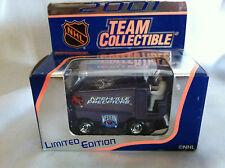 2001 TEAM COLLECTIBLE NASHVILLE ZAMBONI CAR NEW NHL ICE HOCKEY TOY IN BOX NIB