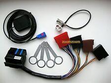 Audi RNS-E Einbauset PLUG&PLAY Adapter GPS Antenne Entriegelungsbügel A3 A4 A6
