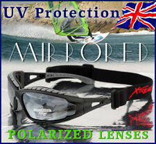Xtreme 2in1 POLARIZED Goggles Sunglasses 4 Kayaking Boating Light Mirrored Lens