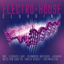 CD electro house Clubbing de various artists 2cds