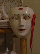 """Maschera in ceramica de """" Su Cumponidori """" della Sartglia di Oristano"""