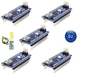 Nano ATmega328 Board CH340 USB Chip Arduino komp. EBPO Tech
