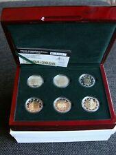 LUXEMBURG - 6 X 2 EURO 2004-2008 PROOFSET.