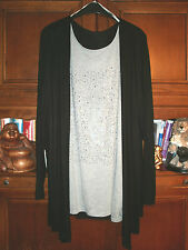 Damen - Shirt / Weste 2in1  Gr. 54