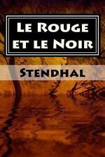 Rouge et le Noir : Plein: By Stendhal Fran?ais, ?diteur