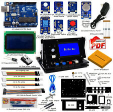 Adeept New Indoor Environment Monitoring Starter Kit for Arduino UNO R3 with PDF