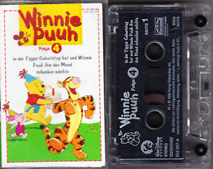 MC Winnie Puuh 4 - in der Tigger Geburtstag hat - Disney - Sammelrücken C1