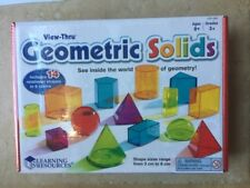 Learning Resources View Thru Geometric Solids LER 4331