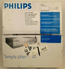 PHILIPS DVP1013 DVD Progressive Scan Player New Old Stock In Box Unopened
