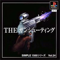 USED PS1 PS PlayStation 1 SIMPLE1500 Series Vol.24 THE gun shooting 90289 JAPAN