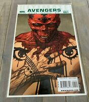 Marvel Comics ULTIMATE AVENGERS #1 Red Skull Variant 1:10 NM Comic Mark Millar