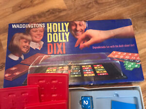 Holly Dolly Dixi board game 1968 by Waddingtons- complete- static electricity