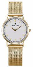 LIU Slimline Acciaio Inox Oro Milanaise LADY'S Watch Orologio da polso indici a barre