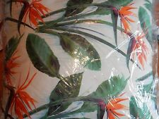 Pottery Barn Bird of Paradise Outdoor Pillow NICE 22 Sq