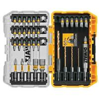 DeWALT 35-PC SCREWDRIVING BIT SET Screw Bits Impact Drive Guide Nut Driver Drill