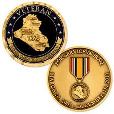 NEW Operation Iraqi Freedom Veteran 2003-2011 Bronze Challenge Coin.