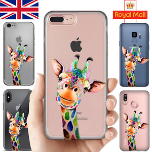 CUTE ANIMALS - Case for iPhone 11 Pro 7 8 + X SE S10 Huawei Silicone Phone Cover