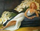 Diego Rivera Portrait of Mrs. Natasha Gelman Giclee Canvas Print