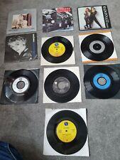 "New listing Madonna 7"" Vinyl Single Record Bundle x10 holiday,  papa dont preach, a virgin"