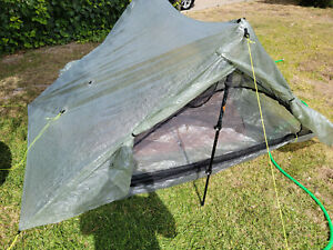 Zpacks Duplex Tent used ultralight 2-person DCF Cuben Fiber