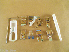 11pc PRESSER FOOT SET 5011L-B2 for LOW SHANK SNAPMATIC KENMORE SINGER BROTHER
