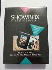 "Showbox Photo Viewer - Holds up to 40 photos 4""x6"" - Share & Store Photos RARE"