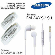 2X Earphones Headphone HandsFree For Samsung Galaxy S7 S6 Edge S4 S3 S  Note 4 5