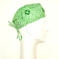 St. Patrick's Day on Green Scrub Hat