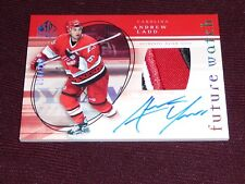 05-06 SP Authentic Andrew LADD RC Auto Future Watch Patch 54/100 3CLR L@@K