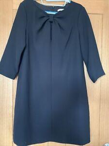 Valentino R.E.D  Black Dress Size 10 / 12 42 Worn Twice