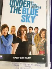 Under The Blue Sky Signed Playbill And Ticket Odowd Tate Annis