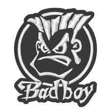"Biker Fan Aufnäher "" BAD BOY "" 8 x 9,5 cm"