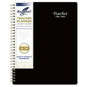 Teacher Planner 2021-2022 - Professional Academic Lesson Teacher Planner from -