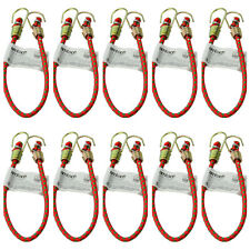 "TEN x 10"" MINI SMALL BUNGEE CORDS  Straps CAMPING    250mm Long"