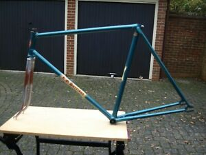 "Unknown Vintage track frame - 22"" - badged RO Harrison"